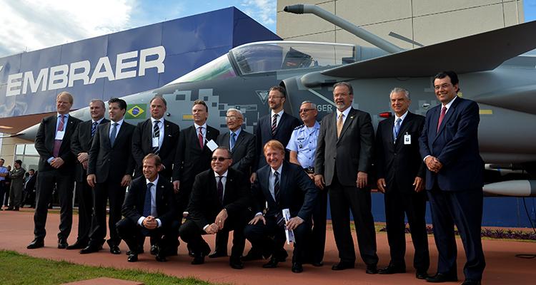 Embraer e SAAB inauguram Centro de Projetos e Desenvolvimento do Gripen
