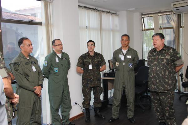 Escola de Comando e Estado-Maior da Aeronáutica realiza exercício de guerra simulada