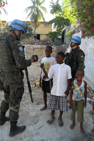 De volta ao Haiti