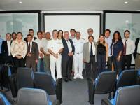 Diretor de Portos e Costas junto a representantes da comunidade marítima do Ceará