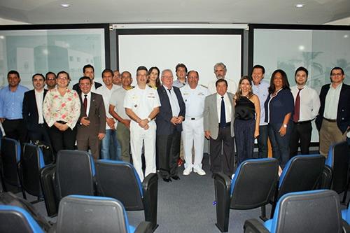 Marinha profere palestra para a comunidade marítima e portuária do Ceará