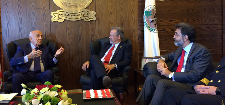 Ministro Jungmann visita o Líbano e fortalece cooperação em defesa com o Brasil
