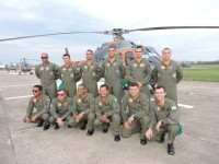 Militares do Destacamento Aéreo Embarcado