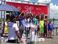 Capitão dos Portos realiza a entrega dos troféus aos vencedores da competição