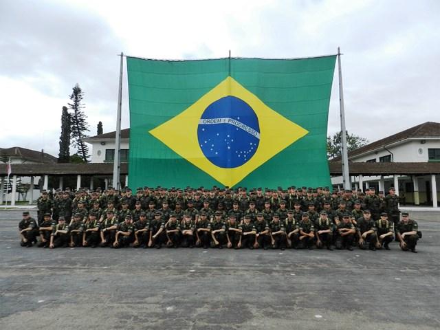 Reserva Mobilizável da 5ª RM em Exercício de Defesa no Porto de Itajaí