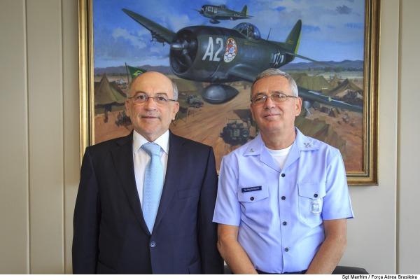 Presidente do TCU elogia política de gestão do Comando da Aeronáutica
