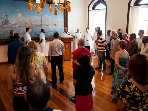 Cerimônia interna alusiva ao Dia do Servidor Público