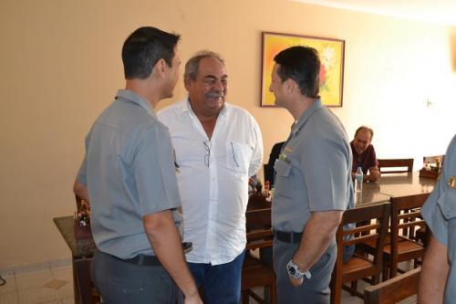 Soamar Baixo São Francisco recepciona o Capitão dos Portos de Alagoas