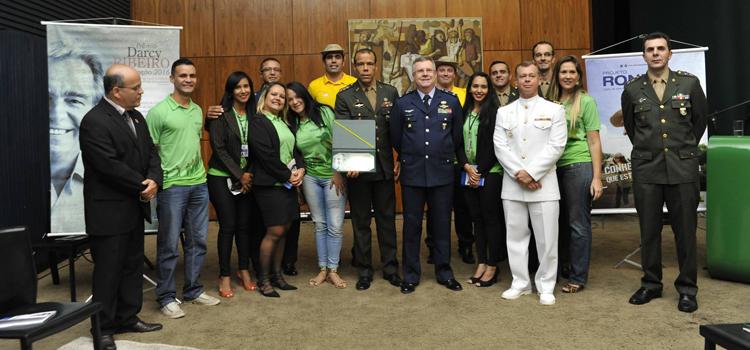 Solenidade marca entrega do Prêmio Darcy Ribeiro de Educação ao Projeto Rondon