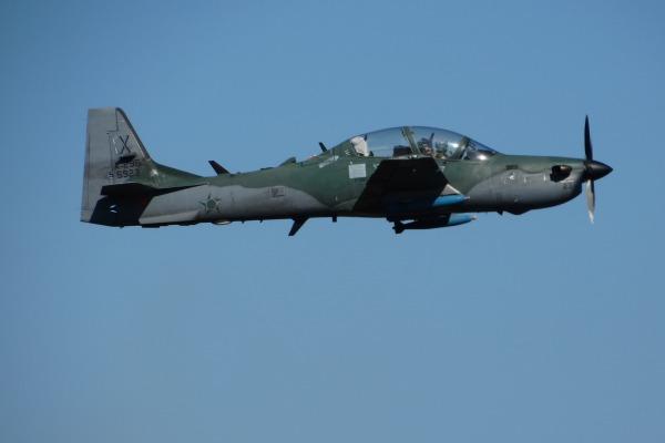 A-29 instrumentado