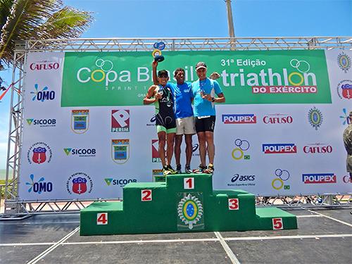 Veterano Fuzileiro Naval conquista vaga para o Mundial de Triathlon