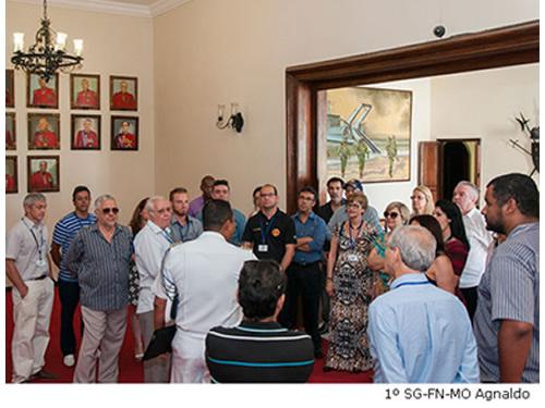 CGCFN recebe comitivas da ADESG de Minas Gerais e de Juiz de Fora