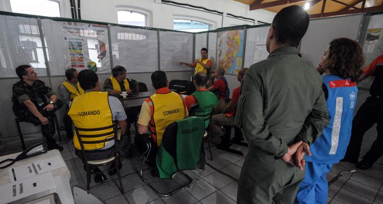 Exercício conjunto testa capacidades das Forças Armadas e da Defesa Civil no Espírito Santo