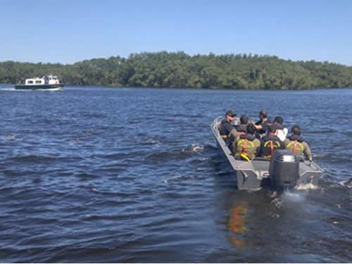 Parte prática do Curso Especial para Tripulação de Embarcações de Estado no Serviço Público
