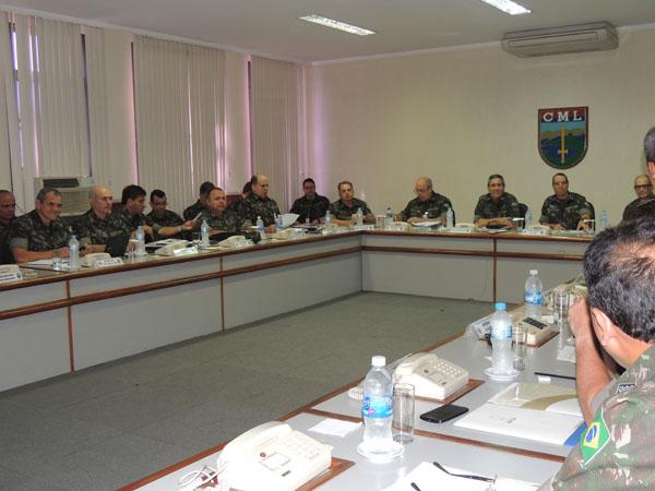 CML realiza 3ª Reunião de Comando