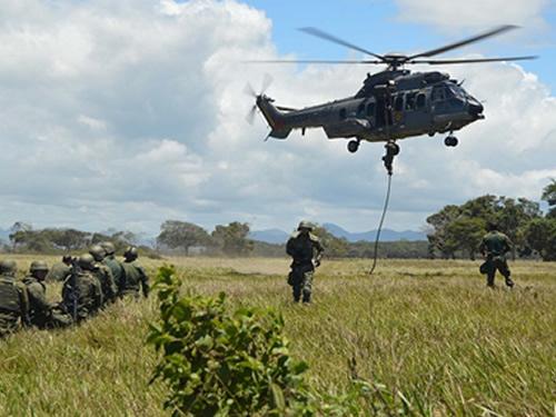 Fuzileiros Navais encerram a preparação do 25º Grupamento Operativo-Haiti