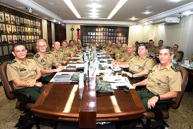 Exército promove 309ª Reunião do Alto-Comando
