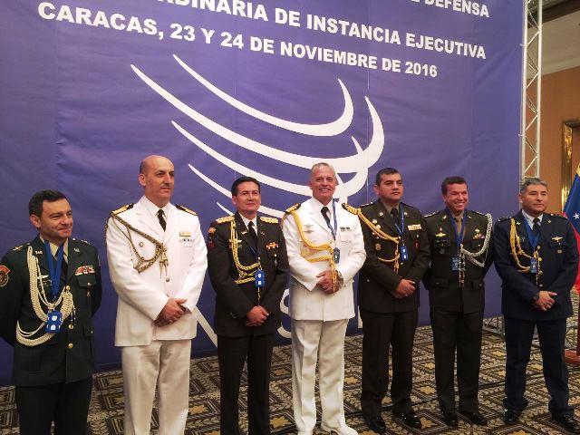 Aditância de Defesa e do Exército na Venezuela realiza VII Reunião da UNASUL