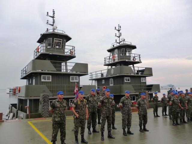 CECMA executa incorporação de dois empurradores e uma balsa