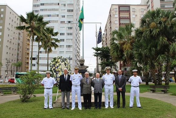 Militares da Marinha e integrantes da SOAMAR – Santos
