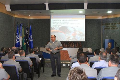 DPC realiza treinamento para oficiais