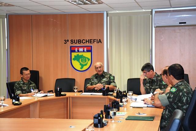 EME realiza Reunião de Coordenarção com órgãos de fora da Força