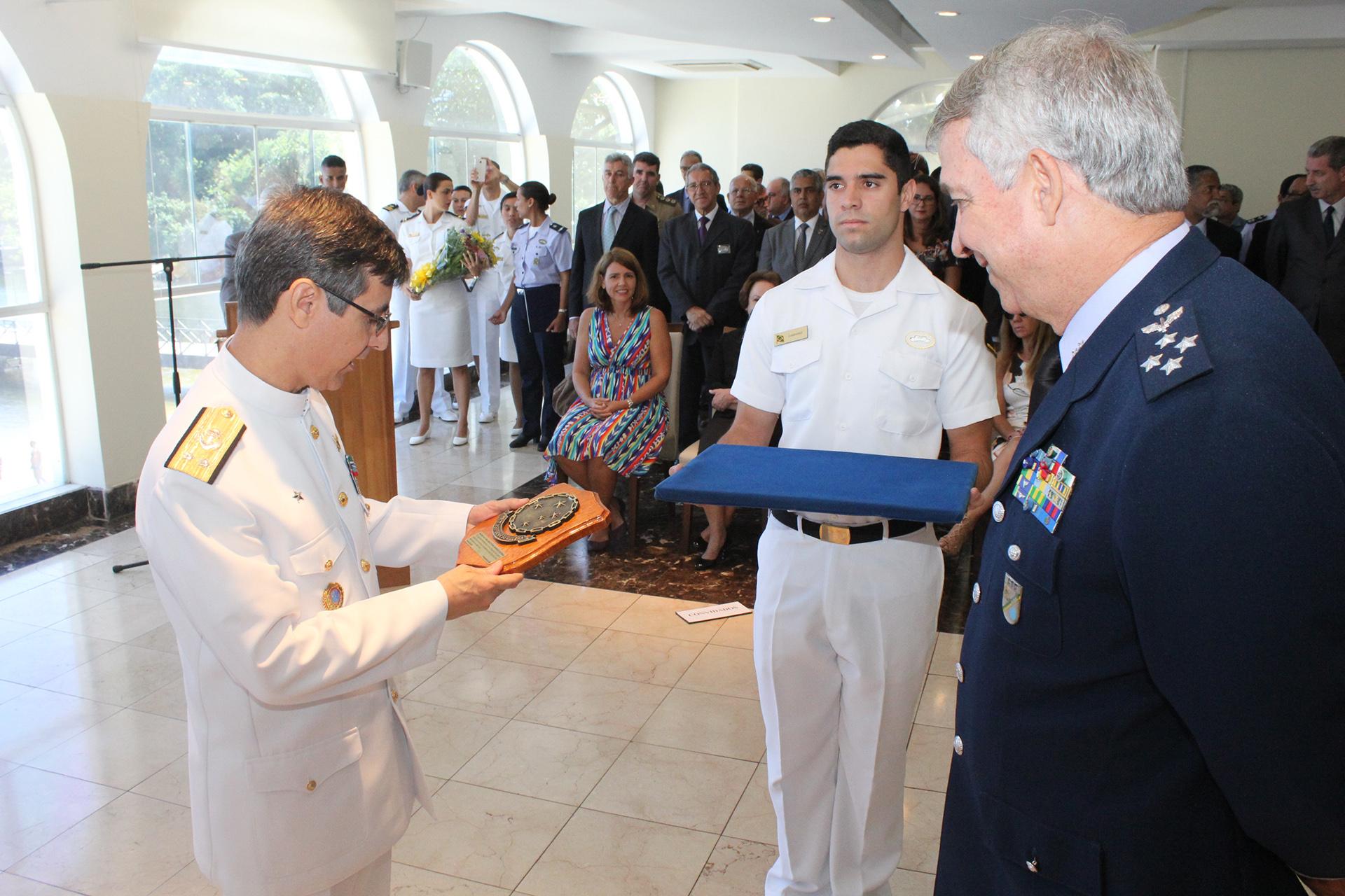 Passagem do Cargo de Assistente da Marinha