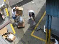 Militares realizam limpeza no Com8ºDN