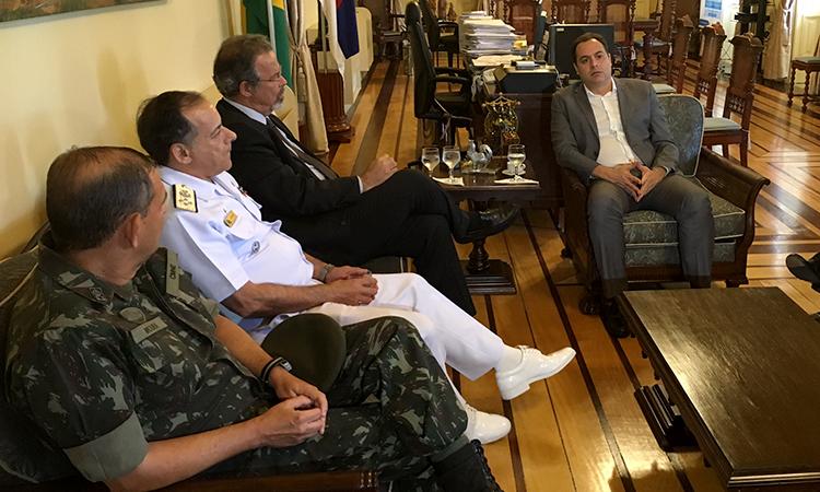 Forças Armadas mobilizam 3,5 mil militares para garantir segurança na Grande Recife