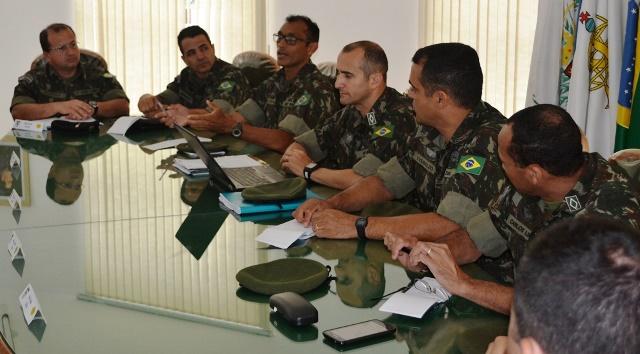 4ª Região Militar promove Reunião dos Adjuntos de Comando de MG