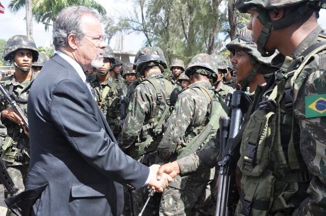 Solenidade apresenta tropas e meios empregados na Região Metropolitana do Recife