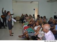 Palestra aos participantes do projeto Vida Saudável
