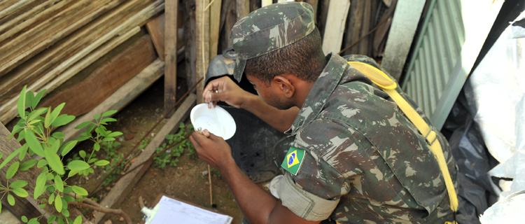 Forças Armadas reforçam combate ao mosquito Aedes