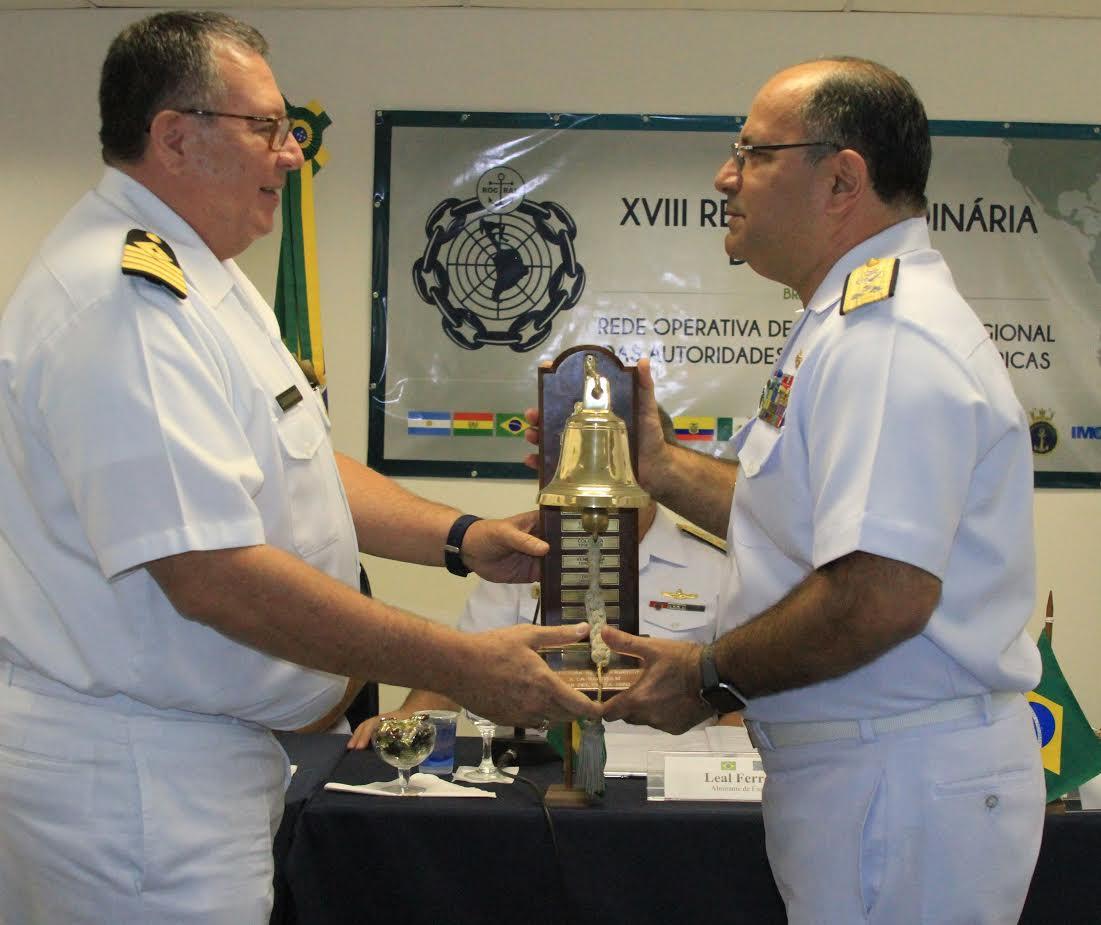 Marinha do Brasil realiza cerimônia de transferência da Secretaria-Geral da ROCRAM