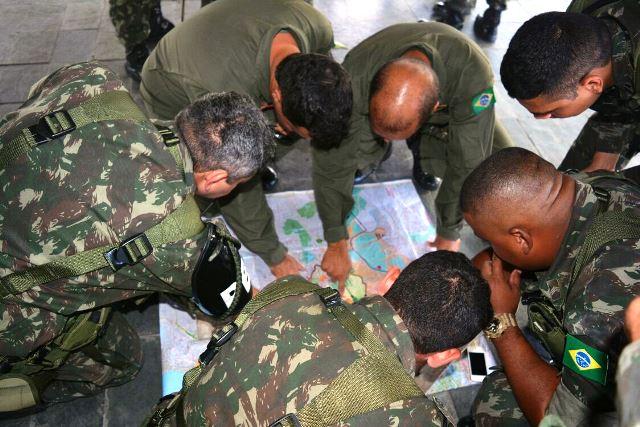 6° Batalhão de Polícia do Exército atua na Operação Leão do Norte