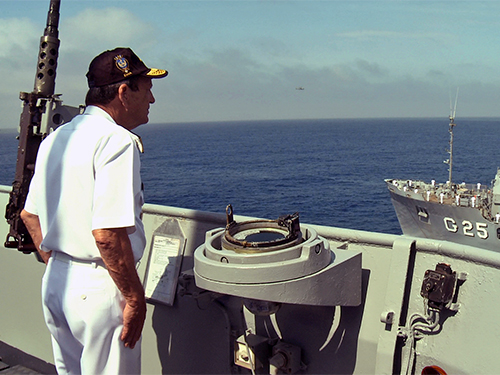 Marinha realiza parada naval em homenagem ao Chefe do Estado-Maior da Armada