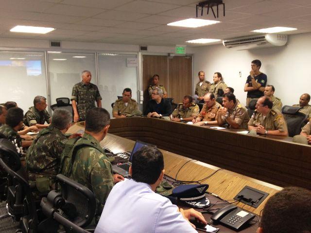 Forças Armadas e Órgãos de Segurança integram ações para manter a ordem pública no Recife