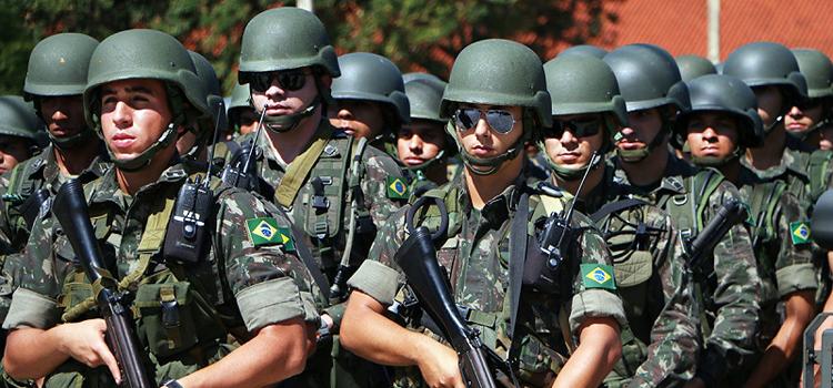 Forças Armadas vão atuar na região metropolitana de Natal por 11 dias