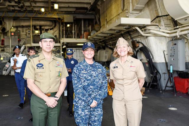 Colégio Interamericano de Defesa conhece organizações e instituições dos EUA