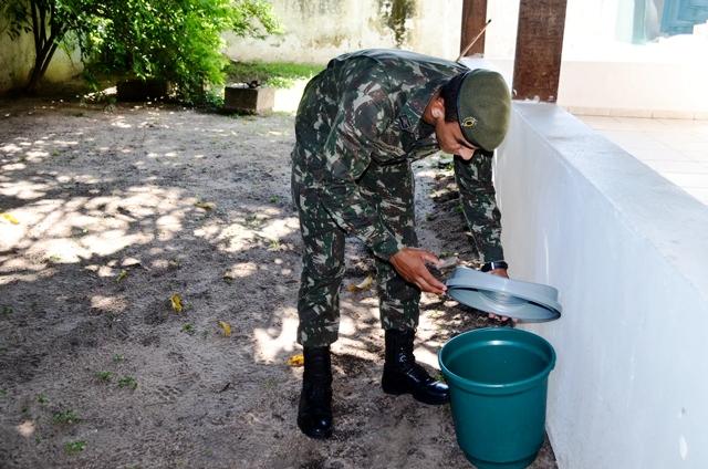 Organizações Militares prosseguem no combate ao Aedes aegypti