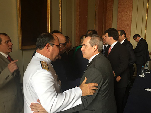 Marinha do Brasil prestigia cerimônia de posse do Diretor-Geral da ANP