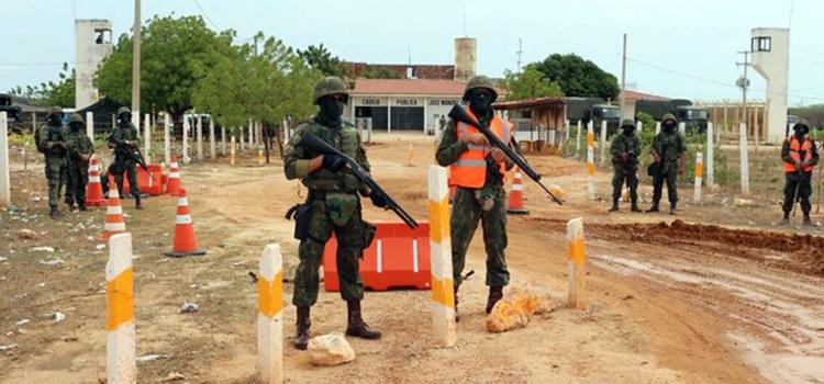 Operação Varredura: Marinha e Exército realizam ações em presídios do Mato Grosso do Sul e Rio Grande do Norte