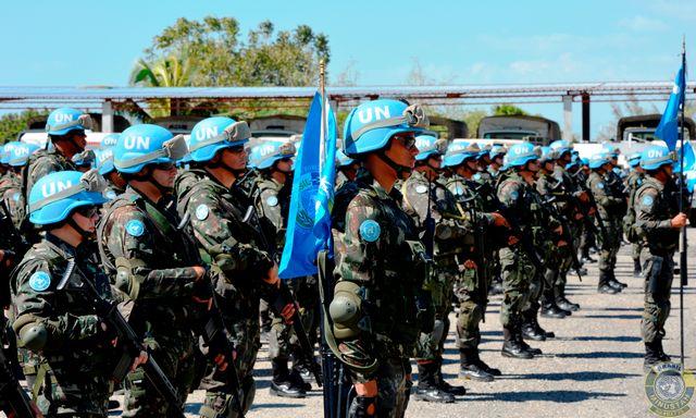 Contingente brasileiro no Haiti recebe a visita do Subsecretário-Geral da ONU