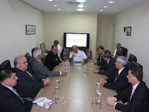 Diretoria de Portos e Costas recebe Procuradores Reginais do Trabalho