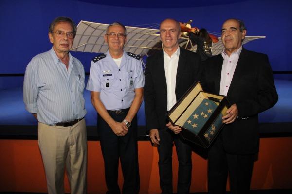 Força Aérea passa a ser guardiã de mais um símbolo de Santos Dumont