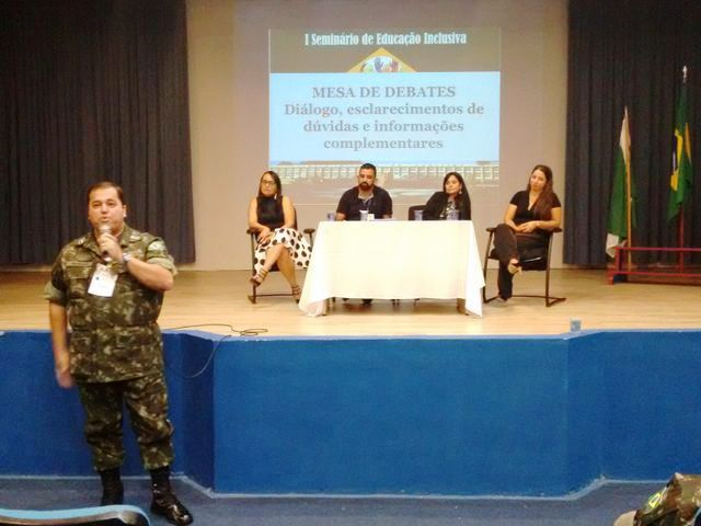 Colégio Militar de Curitiba realiza I Seminário de Educação Inclusiva