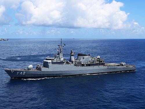 MB realiza Patrulha Naval na Bacia de Campos, durante Operação ADEREX I