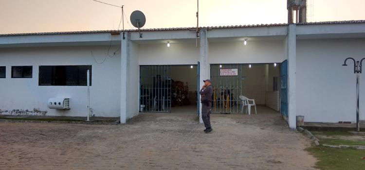 Operação Varredura: 344 fuzileiros navais vistoriam Penitenciária Estadual de Parnamirim (RN)