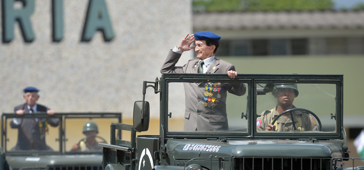 Força Expedicionária Brasileira comemora 72 anos da tomada de Monte Castelo