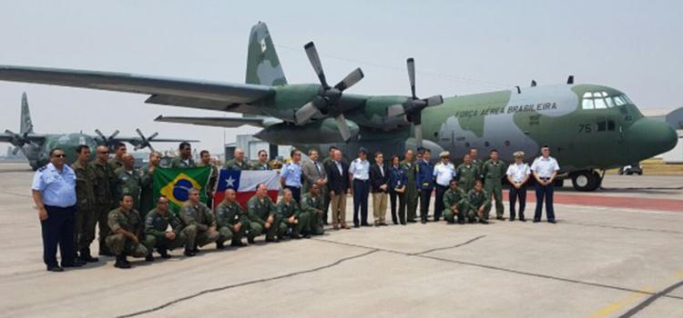 Força Aérea Brasileira realizou 48 missões em seis dias no Chile